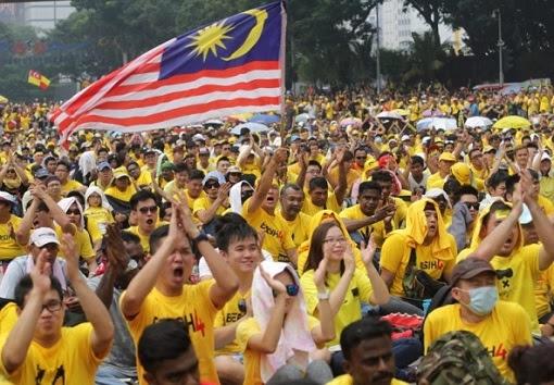 bersih-rally-demonstrators