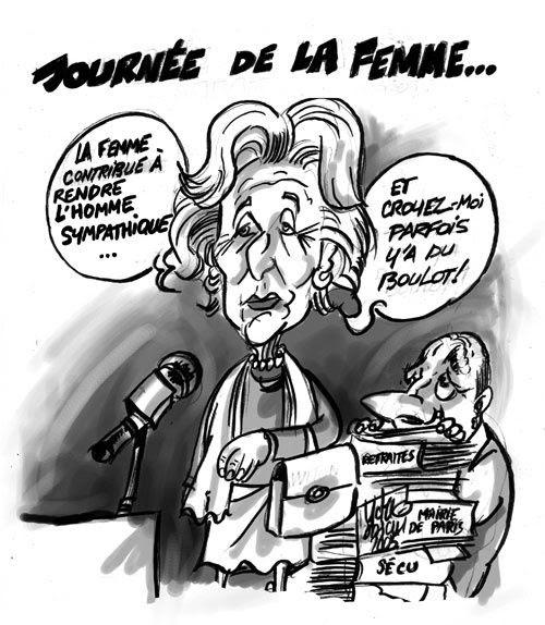 La Journée De La Femme En Dessins Humouristiques Du Rire