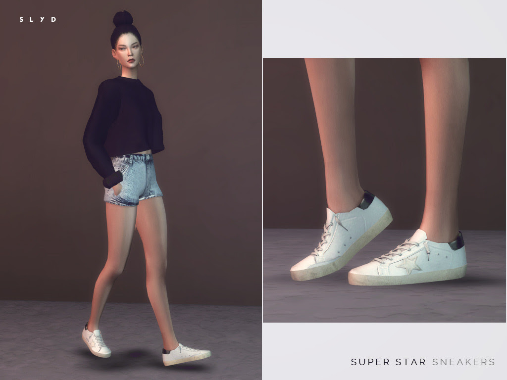 "Golden Goose Deluxe Brand Super Star Sneakers - Leather sneakers with distressed finish in 7 designs. - Female and male versions. "" DOWNLOAD: SFS 