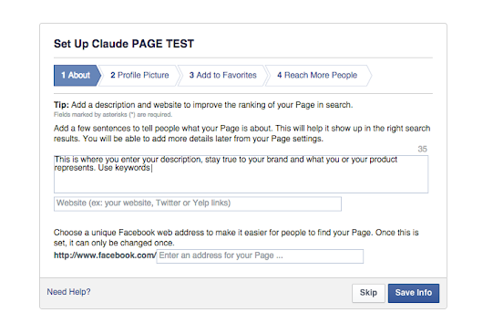 How to Create Your Facebook Fan Page