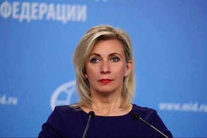 Захарова оценила установку памятника антисоветским националистам в Эстонии