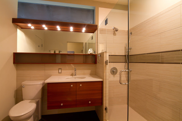 25 Stunning Mid Century Bathroom Design