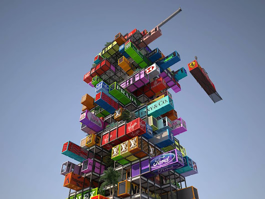 'Hive-Inn' by OVA studio - A Hotel Structure Design Using Shipping Containers