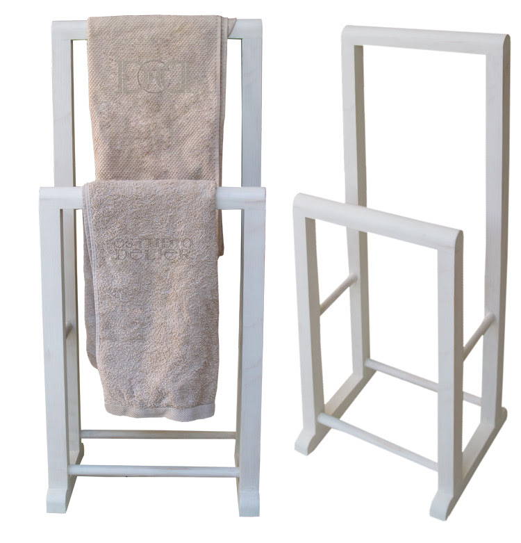 toalleros en blanco