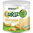 Sprout Curlz Snacks, Organic, White Cheddar, Baked, Toddler - 1.48 oz