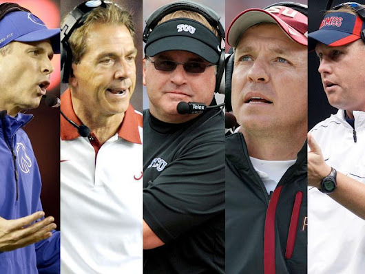 Who should win the Paul 'Bear' Bryant Award for Coach of the Year?