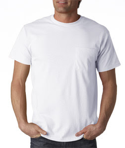 Cotton T-Shirts With Pockets Extra Large