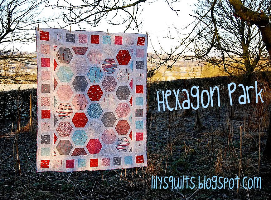 Hexagon Park for Moda Bake Shop