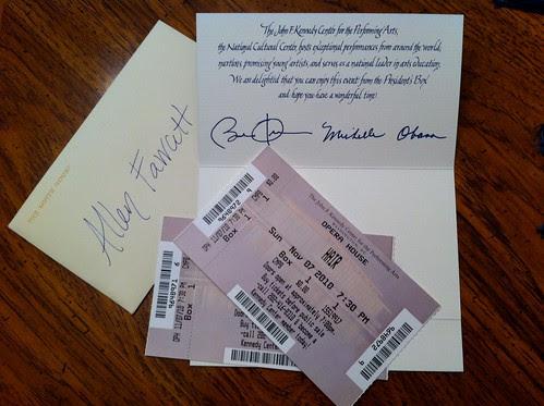 Hair Tickets - Presidential Box