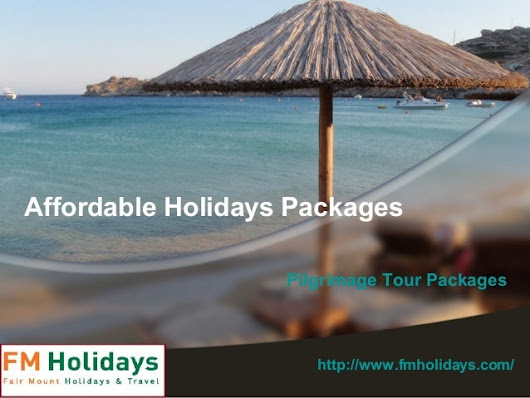 Affordable Holiday packages in medical tourism