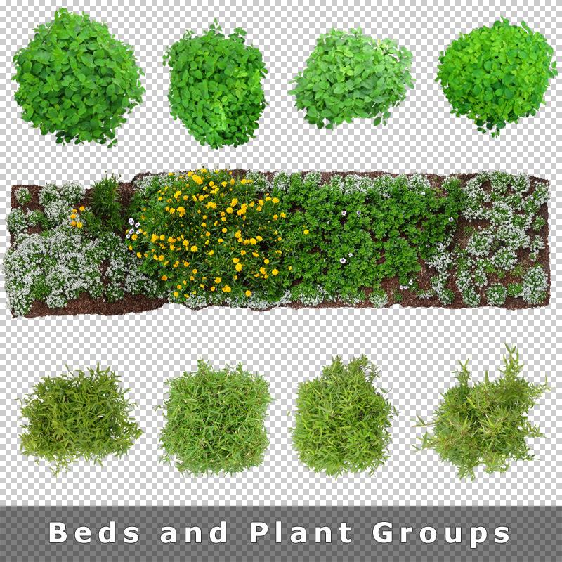 9 beds landscape design plan view download architecture