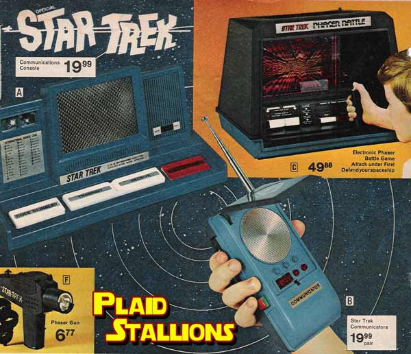 cool mego star trek goodies