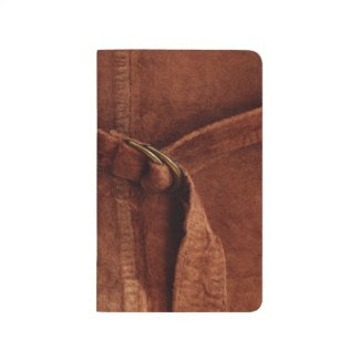 Brown Suede With Strap And Buckle Journal