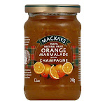 Mackays Marmalade Orange with Champagne, 12 OZ (Pack of 6)