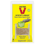 Victor M805 Scent-away Natural Rodent Repeller Packs, 5-count