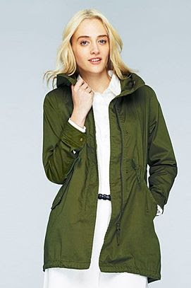 Uniqlo Military Parka