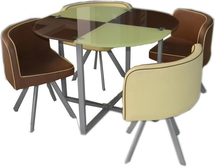 Latest Designs 4 Seater Glass Top Dining Table Set For Sale  Buy Dining Table,Dining Table Set
