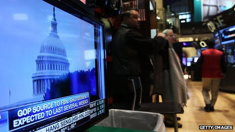 US Markets Finally Fall on Debt Ceiling Fears