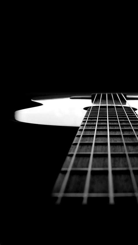 black  white guitar  instrument iphone wallpapers