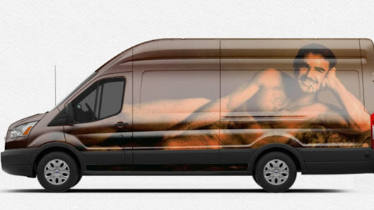 Yesterday we asked you to use Ford's new van customizer tool to make the best Transit. This wins. Ha