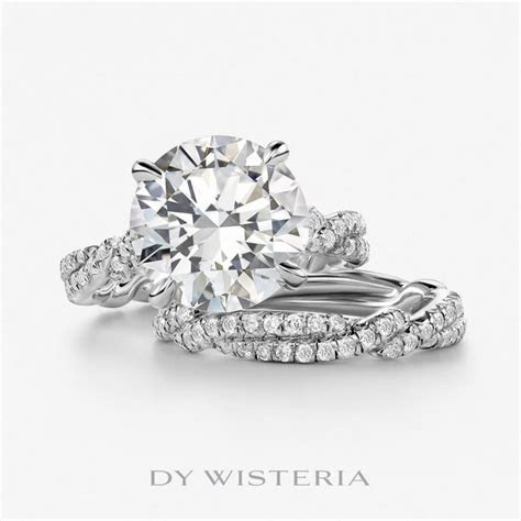 We say YES to David Yurman's Wisteria engagement ring with