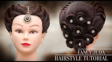 fancy juda latest hairstyle  step  step hair