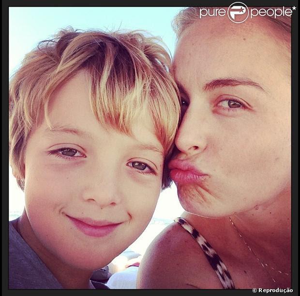 Angélica Comemora Aniversário Do Filho Joaquim E Declara Seu Amor