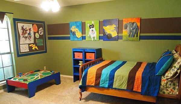 new dekoration ideen kinderzimmergestaltung junge. Black Bedroom Furniture Sets. Home Design Ideas