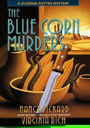 book cover of   The Blue Corn Murders    (Eugenia Potter, book 5)  by  Nancy Pickard