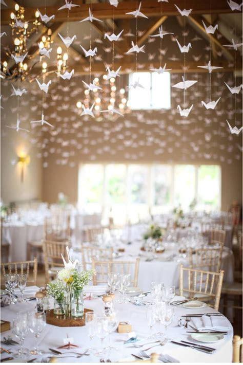 1000 Stunning Cranes at the wedding of Adele & Bill at
