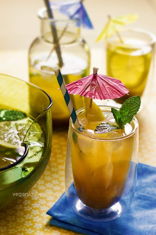 Tamarind Lime Lemonade with Hints of Mint, Cumin & Vanilla
