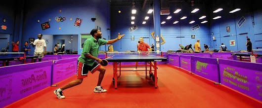 Table tennis is the name of the game at 2XTREMEPONG