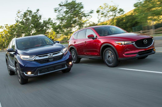 2017 Honda CR-V vs. 2017 Mazda CX-5 Comparison