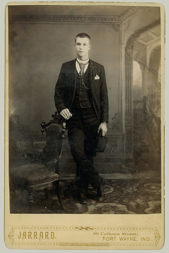 Cabinet Card man Portrait