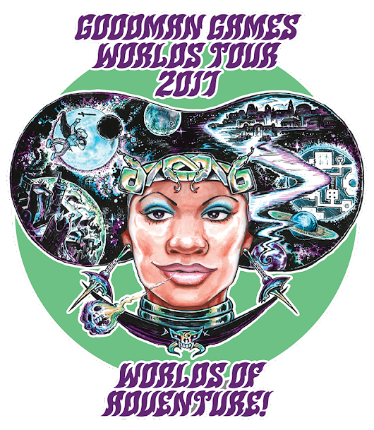Goodman Games Worlds Tour 2017|Goodman Games
