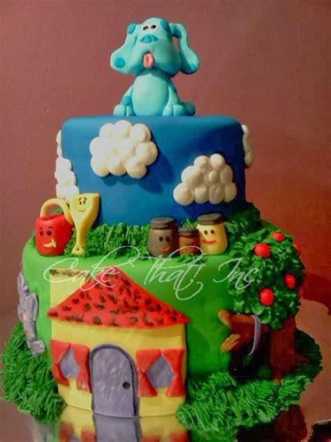 Cake That! Inc.: Blues Clues Cake!