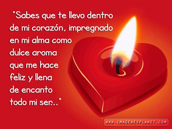 Frases De Amor Te Llevo Dentro De Mi Corazon Imagenes Gratis