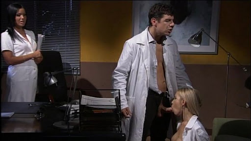 Nice office with two Hot Secretaries fuck