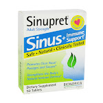 Sinupret Sinus + Immune Support, Adult Strength, Tablets - 50 count