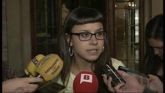 Maria Rovira, regidora de la CUP Capgirem Barcelona