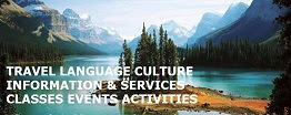 Travel Language Culture Information Services Classes Events Activities Picture