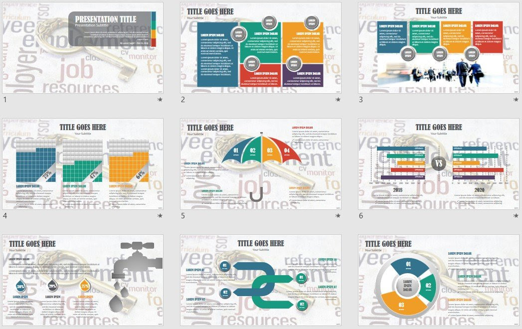 Powerpoint Free Com Free Powerpoint Templates Jobs Powerpoint Template 21456