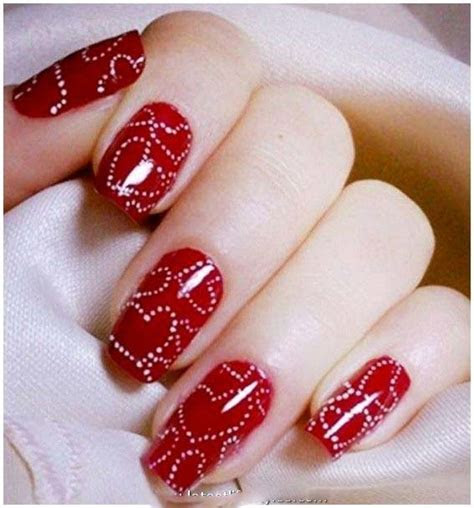 Beautiful Nail Art Designs for Bridals 2016'17   Stylo Planet