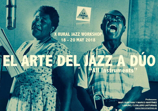 "El Arte del Jazz a Dúo (X Rural Jazz Workshop ""All Instruments"")"