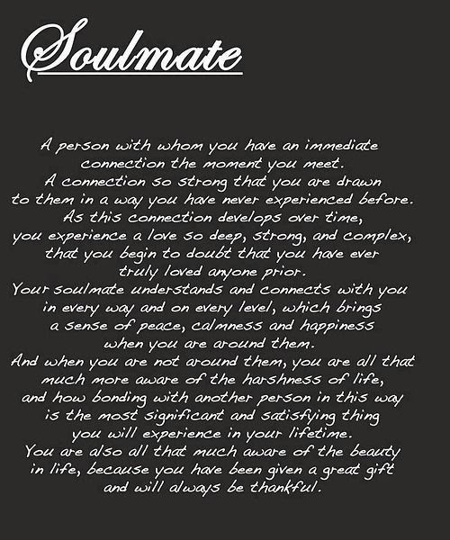 Soulmate Pictures Photos And Images For Facebook Tumblr