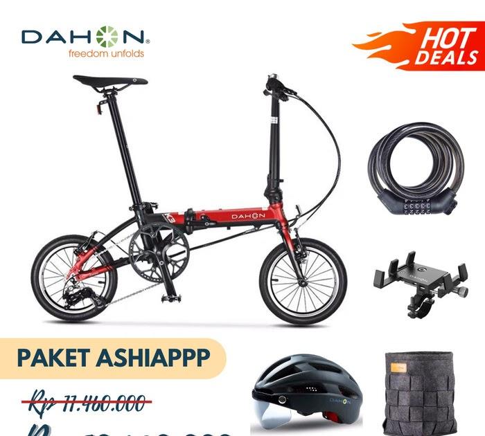 Harga Sepeda Lipat Dahon Ukuran 20 - Sepeda Lipat