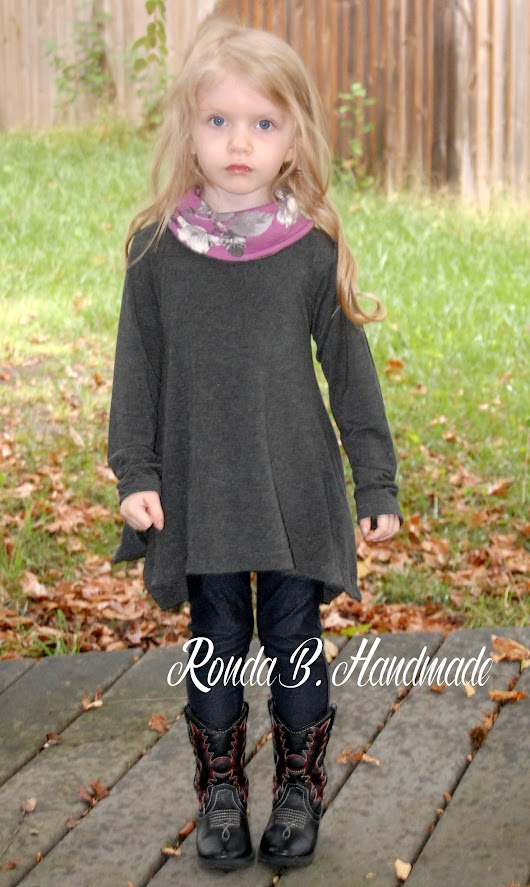 Love Notions Origami Tunic and Cardigan Tour: Mommy and Me Edition