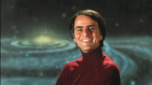 Carl Sagan Explains How the Ancient Greeks, Using Reason and Math, Figured Out the Earth Isn't Flat, Over 2,000 Years Ago