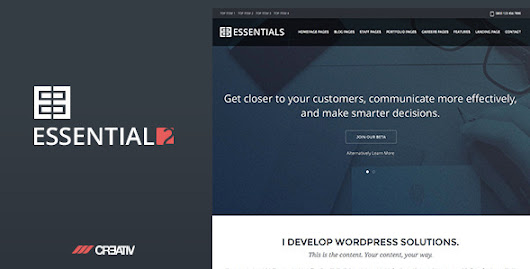 Business Essentials 2 Premium WordPress Theme