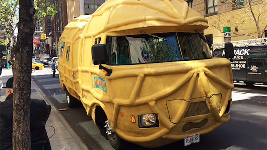 Meet the People With America's Oddest Marketing Job: Driving Planters' 26-Foot Nutmobile